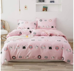 Tendido Duvet Rosa Animalitos