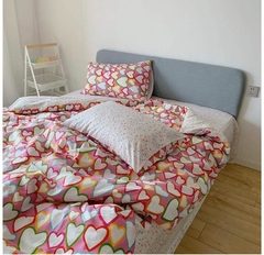 Tendido Duvet Corazon Colores en internet