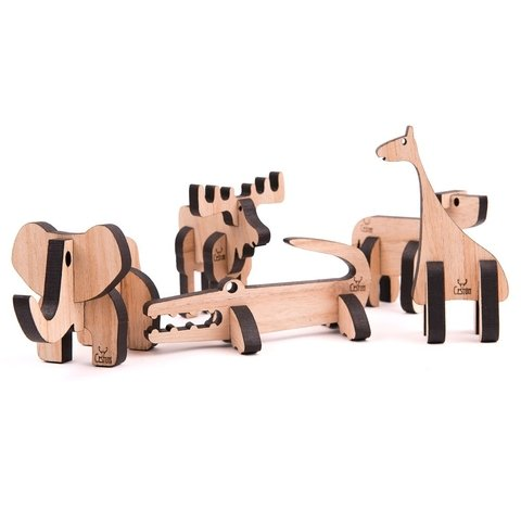 Set Animales Coleccionables 5 x 4