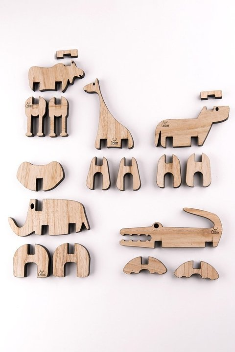 Set Animales Coleccionables 5 x 4 en internet