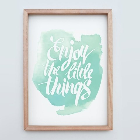 WallArt Enjoy the little things - comprar online