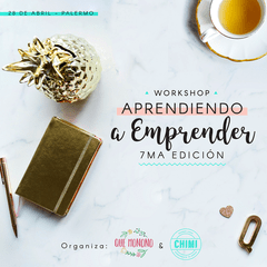 "Workshop ""Aprendiendo a Emprender"" 28/4"