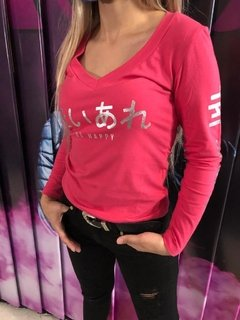 I20-4083 Remera be Happy - ROSH MODA
