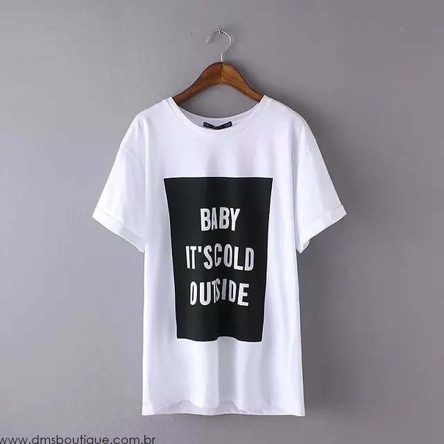 Camiseta Baby It's Cold Outside - Ref.614 na internet