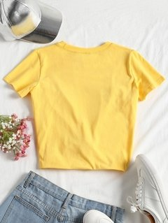 Camiseta Amarela Honey 1