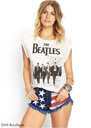 Camiseta Estampa dos Beatles
