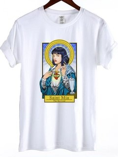 Camiseta Santa Mia Wallace pulp fiction