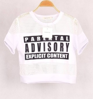 Cropped Top Parental Advisory3