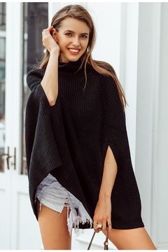 Suéter Poncho 4
