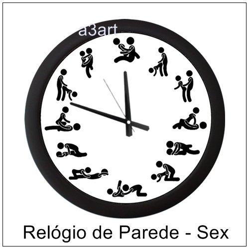 18a581bb253 Relógio de Parede - Kamasutra - Posição SEX