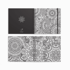 "CUADERNO MANDALA PINTAME ""ZENTANGLE"""