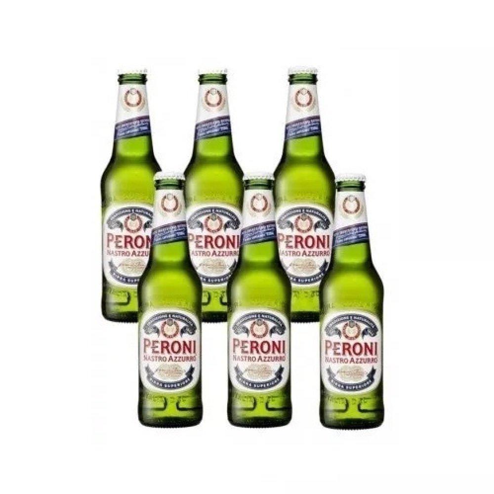 f36306d71a626 Kit 6 Cerveja Italiana Peroni Long Neck 330ml