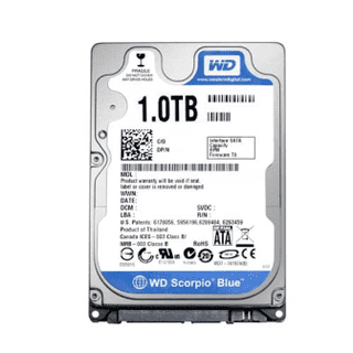 HD 1 TB P/NOTEBOOK WD S-ATA III 5400 8MB - 9MM