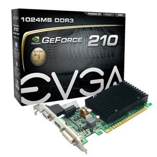 PLACA VIDEO EVGA GF 210 - comprar online