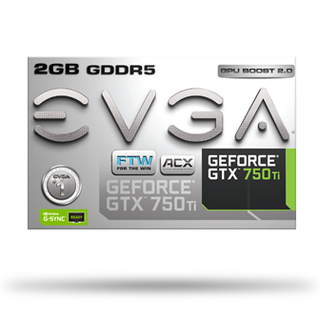 PLACA VGA 2GB GTX 750TI EVGA FTW DVI-I HDMI DP ACX FAN en internet