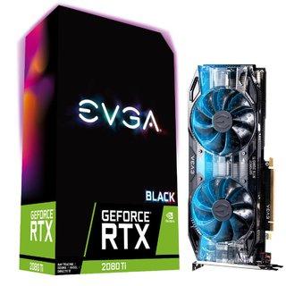 PLACA VGA 11GB RTX 2080 TI EVGA BLACK EDITION GAMING