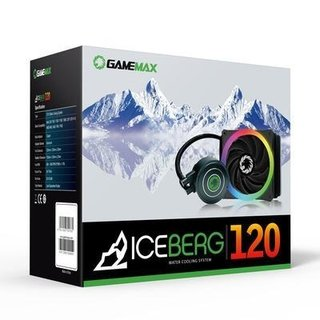 CPU COOLER WATER GAMEMAX ICEBERG120 - comprar online