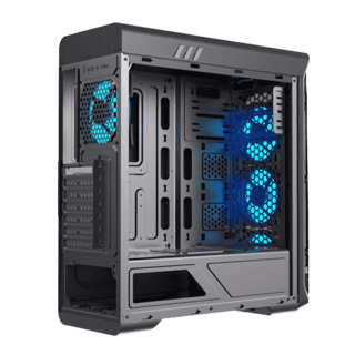 GABINETE GAMEMAX STARLIGHT BLACK BLUE - comprar online