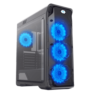 GABINETE GAMEMAX STARLIGHT BLACK BLUE