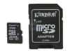 MICRO SD 32GB KINGSTON SDC10/32GB + ADAPTADOR - comprar online