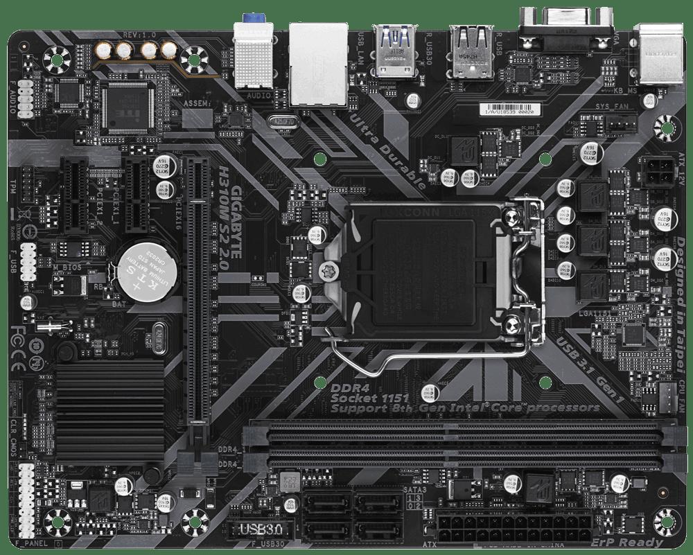 Motherboard Gigabyte S1151 H310m H Box 2 0 M-atx, Córdoba Vende