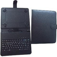 FUNDA CX C/TECLADO P/ TABLET 7` MICRO USB