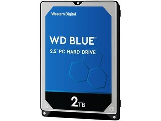 HD 2 TB P/NOTEBOOK WD S-ATA III 5400 8MB - 9MM - Uno Informática Ecommerce