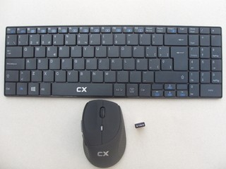 TEC+MOUSE CX WIRELESS BLACK - comprar online