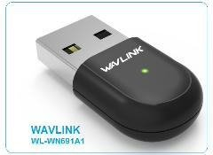 PLACA RED USB WAVLINK WN691A1 600M DUAL BAND