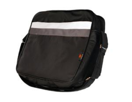 MORRAL P/NOTEBOOK 15.6` TRIPLE KIT CUERO ECO NEGRO/GRIS
