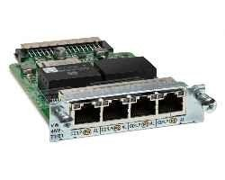 INTERFACE CARD CISCO 4-PORT (3RA) MULTIFLEX - comprar online