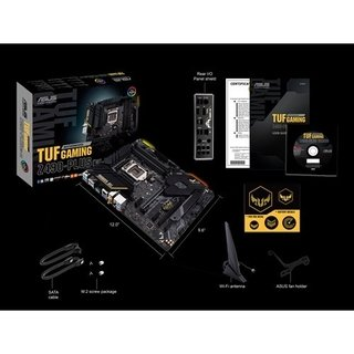 MOTHERBOARD ASUS S1200 TUF GAMING Z490-PLUS WI-FI BOX ATX