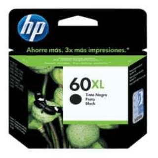CARTUCHO ALTERNATIVO HP 60XL NEGRO CC641WL P/HP F4280/D1660