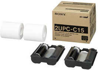 SONY PHOTO PRINT KIT 2UPC-C15 13x18CM P/ UP-CR10L - tienda online