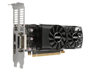 PLACA VGA 4GB GTX 1050 TI MSI DUAL FAN LP LOW PROFILE - comprar online