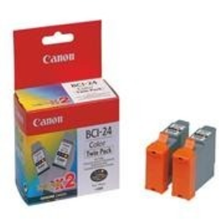 CARTUCHO CANON BCI-24 COLOR TWIN PACK