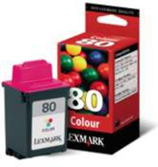 CARTUCHO LEXMARK 80 COLOR 12A1980 Z31 Z11 3200 5000 5700 5 en internet