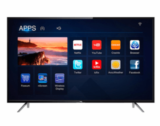TV 55 TCL SMART 4K L55P4K PLATEADO en internet
