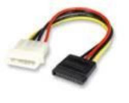 CABLE S-ATA POWER DOBLE CX 15CMS