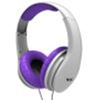 AURICULARES VOXSON SEATTLE WHITE/PURPLE - Uno Informática Ecommerce