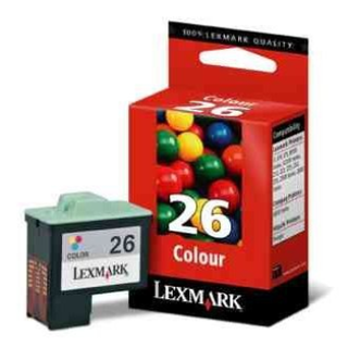 CARTUCHO LEXMARK 26 COLOR 10N1126 en internet