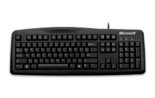 TECLADO MICROSOFT WIRED 200 en internet