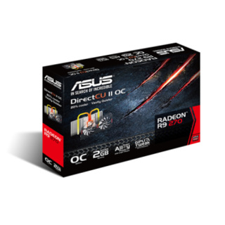 PLACA VIDEO 2GB ASUS DC2OC R9270-DC2OC-2GD5 en internet