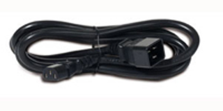 APC Power Cord, C13 to C20, 2.0m - Uno Informática Ecommerce