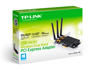 PLACA RED PCI-E TP-LINK ARCHER T9E AC1900 DUALBAN en internet