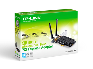 PLACA RED PCI-E TP-LINK ARCHER T6E AC1300 DUALBAN