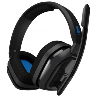 AURICULARES GAMING A10 PARA PS4 GREY/BLUE LOGITECH