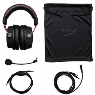 AURICULARES KINGSTON HYPERX CLOUD ALPHA GAMING ROJO en internet