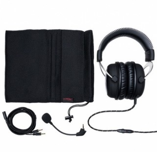 AURICULARES KINGSTON HYPERX CLOUD GAMING SILVER - tienda online