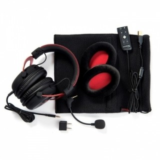 AURICULARES KINGSTON HYPERX CLOUD II GAMING ROJO - comprar online